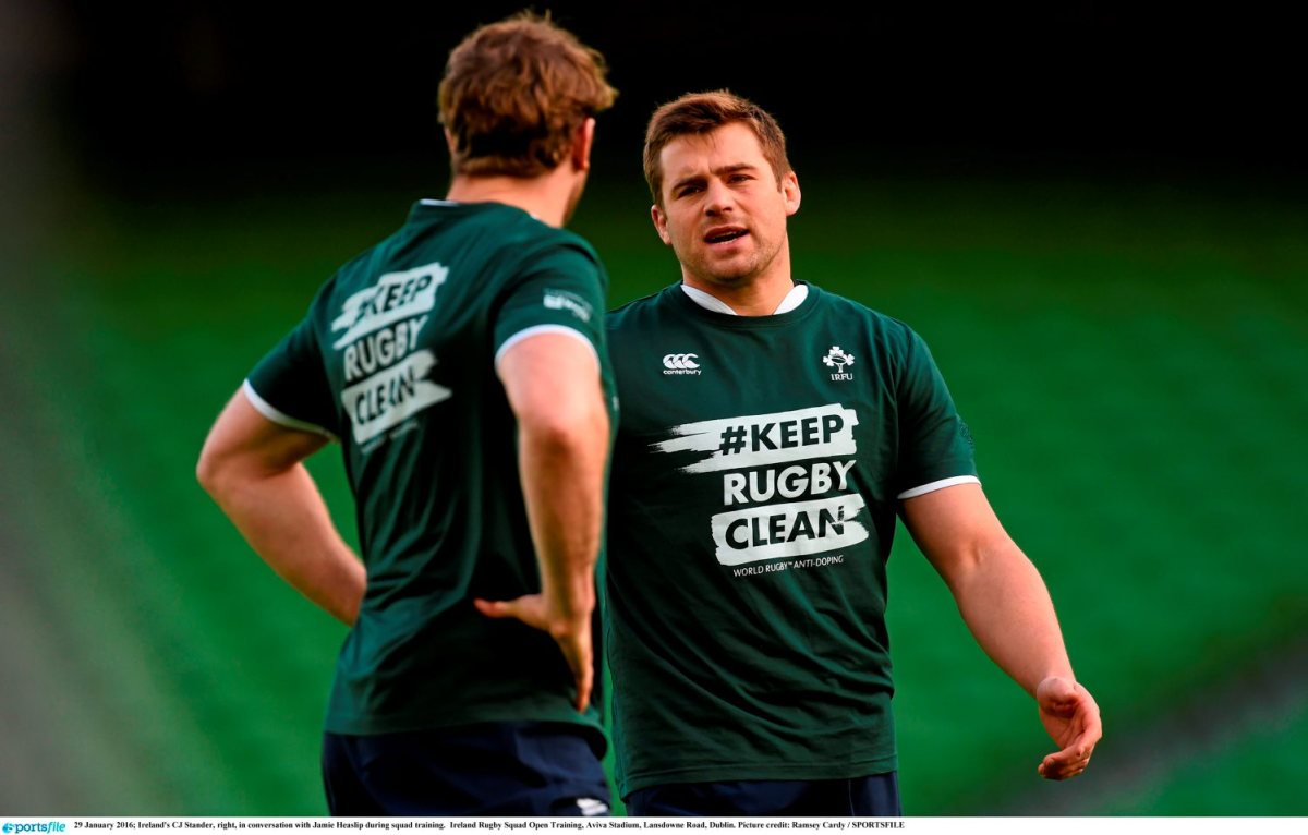 Ireland Rugby Squad Open Training