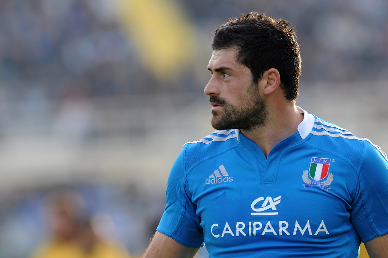 FLORENCE, ITALY - NOVEMBER 24:  Andrea Masi of Italy  looks on during  the international rugby test match between Italy and Australia at Artemio Franchi on November 24, 2012 in Florence, Italy.  (Photo by Dino Panato/Getty Images)