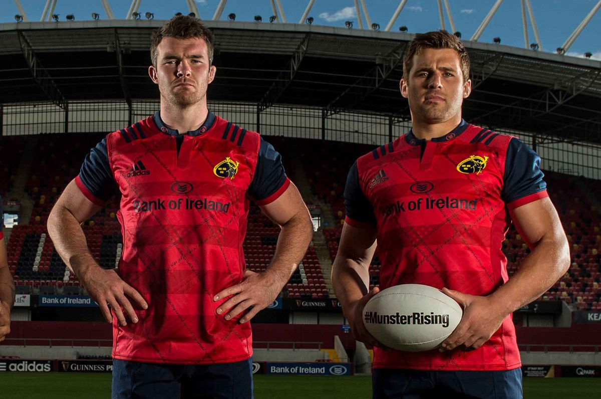 Munster Stand Down Number 8 Jersey In Honour Of Foley For Tomorrow's Game