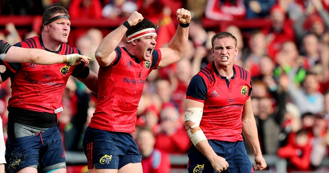 Munster Players React To Yesterday's Game With Number Of Heartfelt Posts
