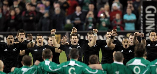 Guinness Autumn Series International, Aviva Stadium, Dublin 20/11/2010.Ireland vs New Zealand All Blacks.The New Zealand All Blacks perform the Haka.Mandatory Credit ©INPHO/Morgan Treacy *** Local Caption ***
