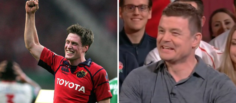 Watch: Brian O'Driscoll Brilliantly Mocks Ronan O'Gara's 'Secret' Love For Munster