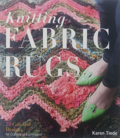 Knitting Fabric Rugs, front cover