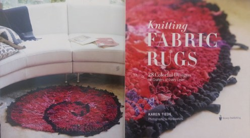 Knitting Fabric Rugs, inside front cover