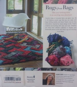 Knitting Fabric Rugs, back cover
