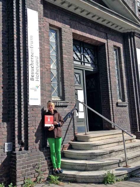 Ludmilla Gutjahr ist die Leiterin des Besucherzentrums.Foto: Besucherzentrum Hoheward / Hertener Stadtwerke