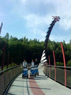 Die Segways sind bei Besuchern sehr beliebt. Foto: Besucherzentrum Hoheward / Hertener Stadtwerke