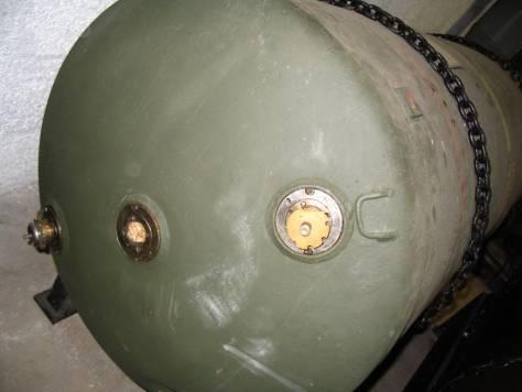 Ca. 1,8 Tonnen schwere Luftmine des Typs HC 4000 aus dem Zweiten Weltkrieg © Stadt Dortmund