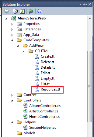 ASP.NET MVC Localization: Generate resource files and localized views using custom templates (4/6)