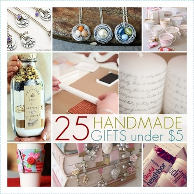 25 Handmade Gifts. the36thavenue.com