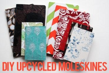 upcycled moleskines final photo