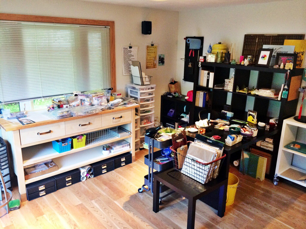 rukristin feminist scrapbooker studio tour