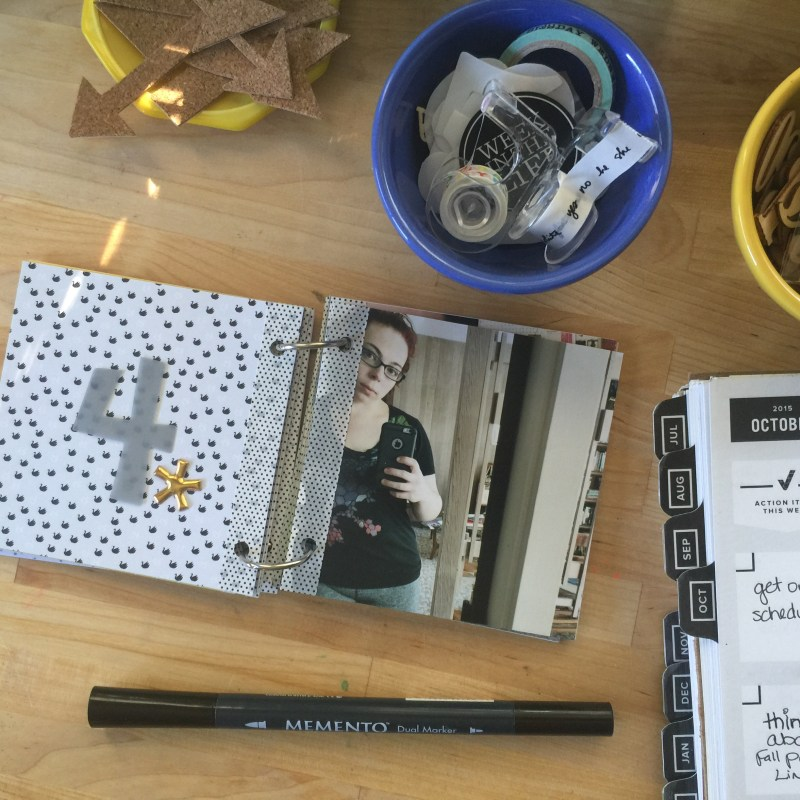 rukristin Quick Project Thursday3 Selfie Mini-Album