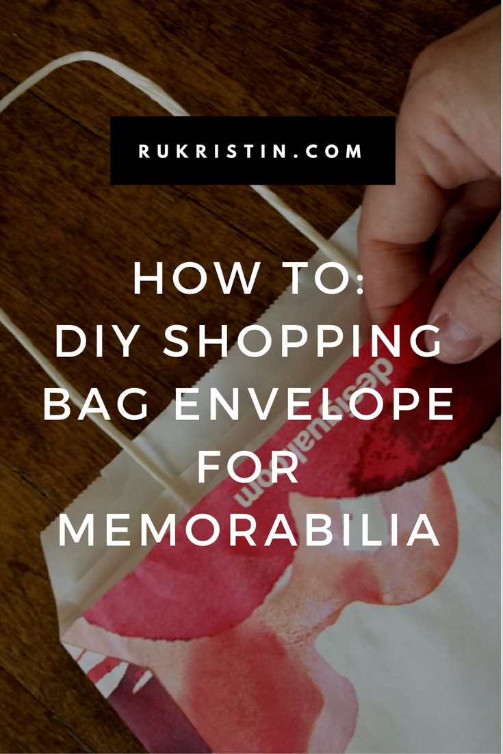 DIY Shopping Bag Envelope