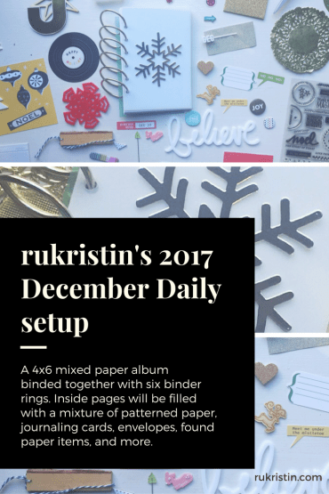 December Daily rukristin 2017