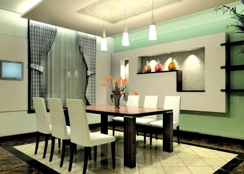 dekorasi meja makan minimalis sederhana