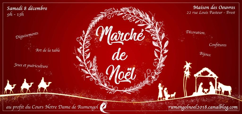Marché de Noël  8 décembre 2018