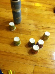 6 dixie cups later...