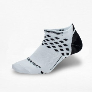 Calcetines Zoot Negro/Blanco - Run4You.mx
