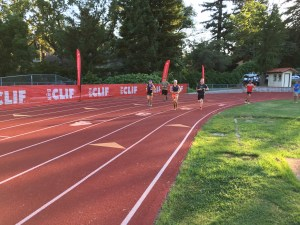 Dana Anderson on the Placer High track