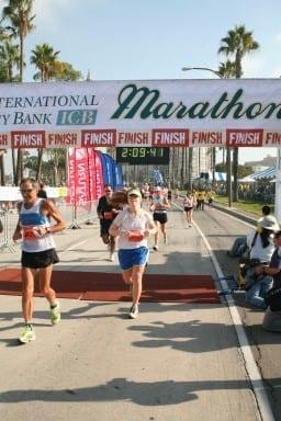 Monica LB Half Running