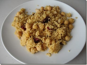 IMG 5601 thumb Orange Cranberry Couscous and Stop a Bad Day