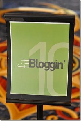 fitblogginsign thumb Foods of Spring and Fitbloggin Recap