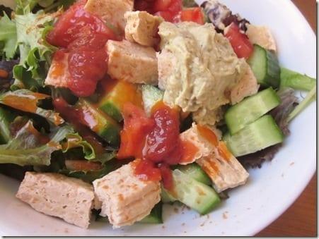IMG 1028 800x600 thumb Three Sauce Salad and Fitbloggin Friday