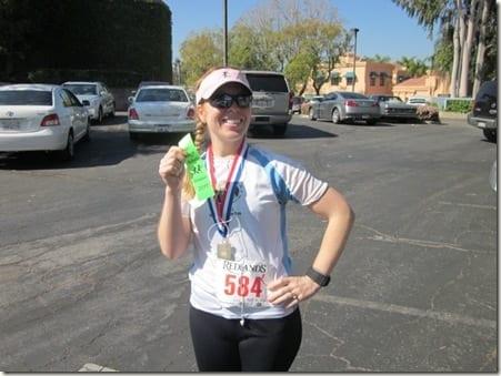 IMG 8964 800x600 thumb Redlands Half Marathon Recap and Ben's 5K