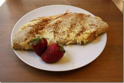 IMG 9172 800x533 thumb French Tortilla Breakfast