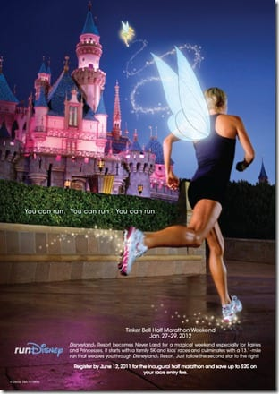 TinkHalfEmailPostcard thumb New Disneyland Half Marathon