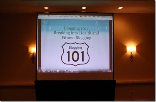 IMG 0959 800x533 thumb Blogging 101 at Fitbloggin Conference