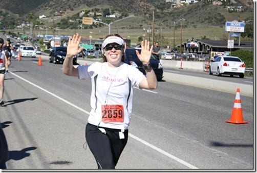 monica at malibu thumb What to Eat (or drink) While Running