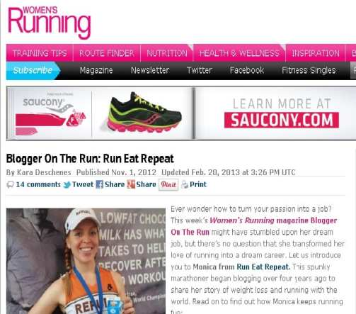 blogger on the run feature Press