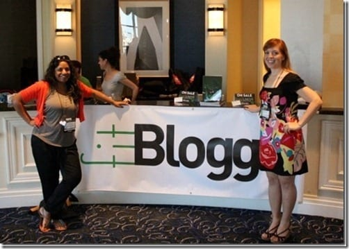 monica and sana at fitbloggin thumb Questions about Blogging Conferences