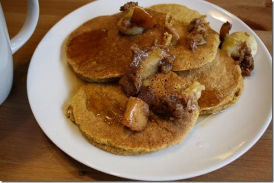 IMG 0108 800x533 thumb Messy Pancake Sunday