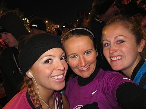 before the race bloggers Rock N Roll Las Vegas Half Marathon '11