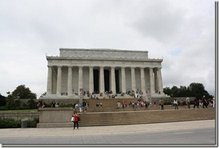 lincoln memorial thumb Protein Packed Cakes