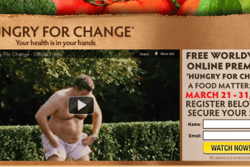 Hungry For Change and Larabar Giveaway