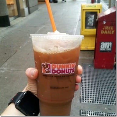 dunkin donuts thumb Rosa Mexicano and Central Park Run