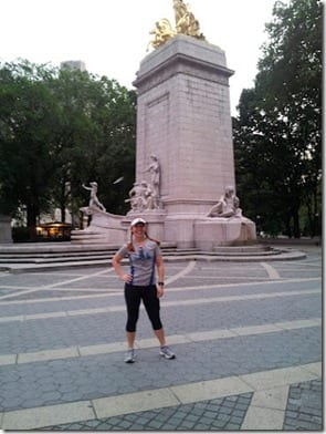 monica in ny thumb Rosa Mexicano and Central Park Run