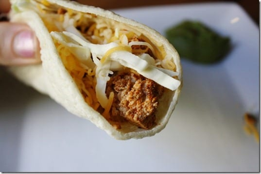 IMG 6774 800x533 thumb Mexican Meatless Monday– Two Ingredient Taco Recipe
