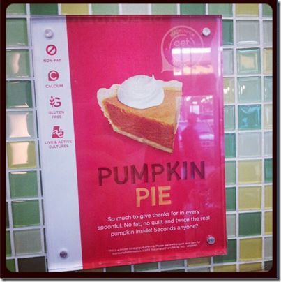 image thumb2 Just The Tip Tuesday–Pumpkin Froyo