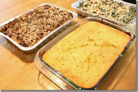 cornbread casserole thumb Sunday Set Up For Thanksgiving