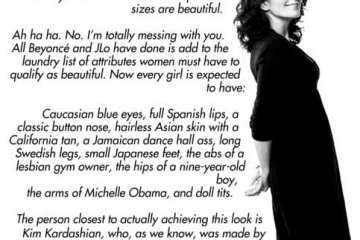 Tina Fey on Body Image