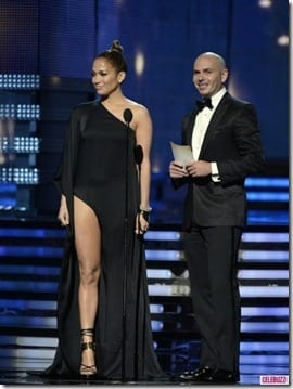 Grammy Awards Jennifer Lopez Pitbull thumb Music Mondays Grammy Style
