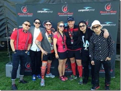 far east movement meet and greet thumb Rock N' Roll Pasadena Half Marathon recap