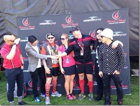far east movement meet greet thumb Rock N' Roll Pasadena Half Marathon recap