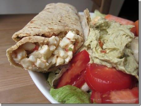 tjs egg salad thumb Friday Foodies and February Goals