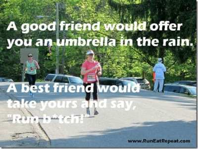 a good friend would offer you an umbrella thumb Workout Motivation Monday